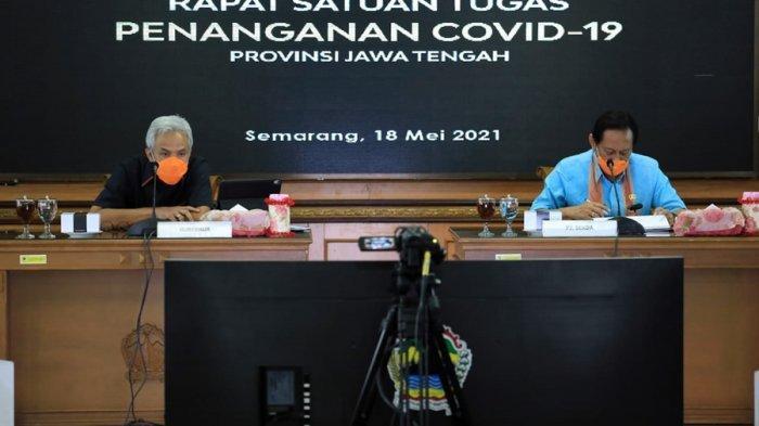 Gubernur Ganjar Minta Vaksinasi Kembali Gaspol di Jateng, Utamanya Brebes Karena Capaian Rendah