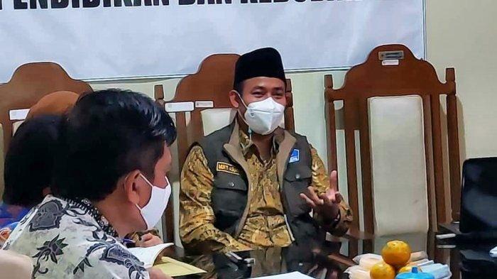 Guru SMPN 1 Bodeh Wajib Disuntik Vaksin, Pilot Project Uji Coba Pembelajaran Tatap Muka di Pemalang