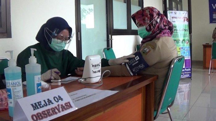 Hari Pertama di Kabupaten Semarang, 45 Nakes Sudah Divaksinasi, Sehari Dibagi Tiga Sesi