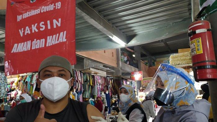 Alasan DKK Karanganyar Prioritaskan Vaksinasi di Tiga Pasar Ini, Pekan Depan Ditarget Rampung