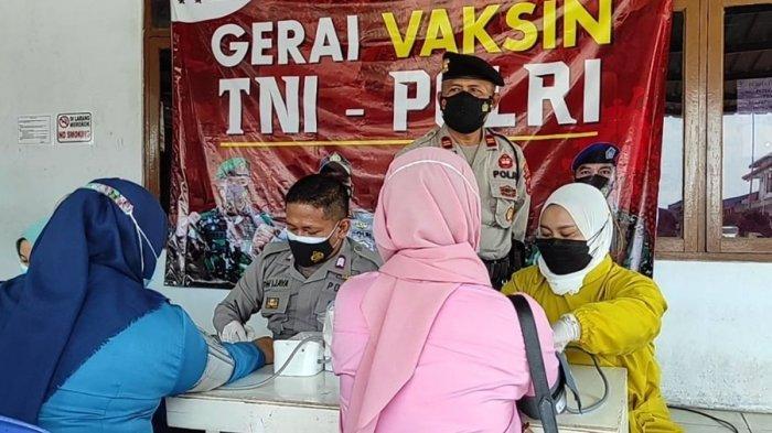 Tiga Perusahaan Ini Ikutkan Karyawannya Vaksinasi Massal, Gerakan Vaksin Presisi Polres Purbalingga