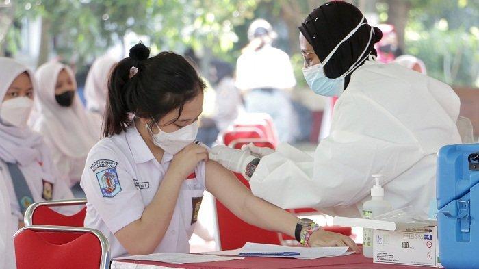 Dukung Pembelajaran Tatap Muka, Dinkes Kota Semarang Targetkan Vaksinasi Pelajar Rampung September