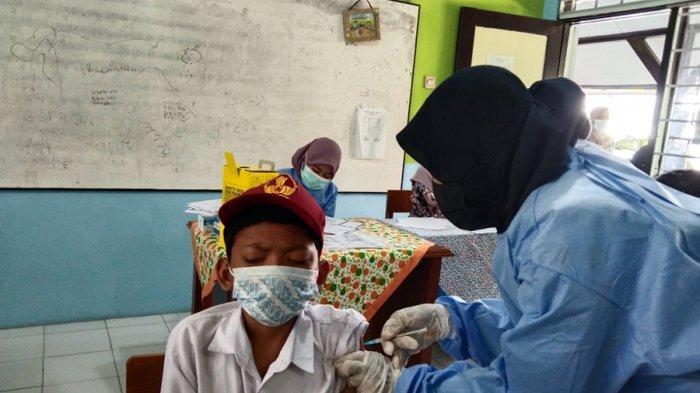 Siswa di 27 Sekolah Kota Tegal Sudah 100 Persen Disuntik Vaksin, Paling Banyak Tingkat SD
