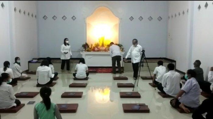 Tahun Ini Masih Pandemi, Begini Perayaan Waisak di Vihara Metta Mandala Pagentan Banjarnegara