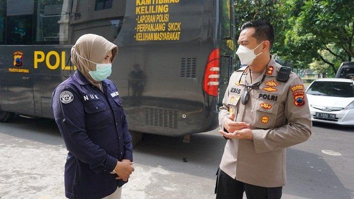 Polsek Cilongok Banyumas Di-Lockdown, Layanan SKCK dan Pelaporan Dialihkan ke Mobil BLKK