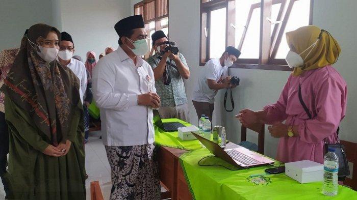 Dorong PTM di Pondok Pesantren, Wagub Gus Yasin Pastikan 1000 Santri di Banyumas segera Divaksin