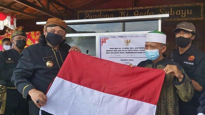 Mantan Napiter Dapat Bantuan Usaha di Hari Jadi Kota Tegal, Siap Jualan Kebab NKRI