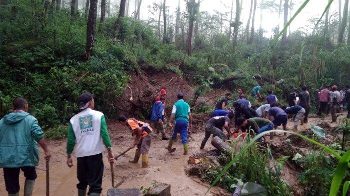 Mulai Memasuki Pancaroba di Banjarnegara, Kalibening Rawan Longsor, Camat Minta Kades Lebih Waspada