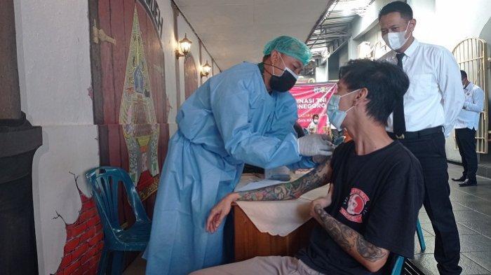 Cegah Penularan Covid di Lapas, 13.800 Warga Binaan Lapas di Jateng Dapat Vaksin Covid