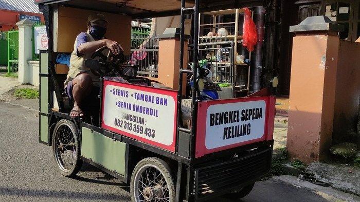 Warga Kebondalem Banyumas Ini Keliling Tawarkan Jasa Bengkel Sepeda: Rezeki Itu Dijemput