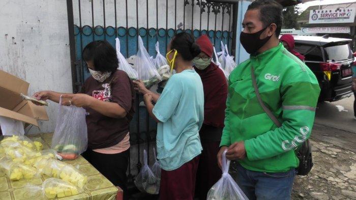 Warung Sembako Cantel Gratis Ajibarang dari Warga untuk Warga, Kades: Berlanjut Tiap Jumat Berkah