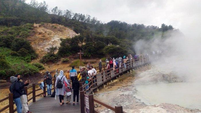 Wisatawan Bisa Ngabuburit di Kawah Sikidang Dieng, Dinparbud Banjarnegara: Tetap Buka Selama Ramadan