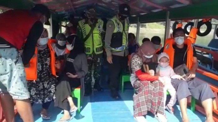 Wisata Perahu Waduk Sempor Kebumen Ramai, Pengelola Wajibkan Penumpang Pakai Jaket Pelampung