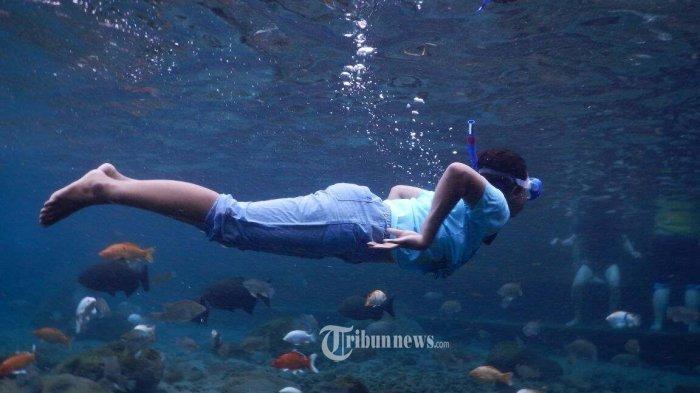 Tempat Wisata Air di Klaten Mulai Buka, Setiap Pengunjung Hanya Boleh Berenang 1 Jam