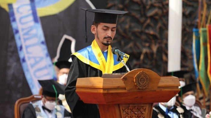 Lulus dari UMP Purwokerto, Mahasiswa Asal Turki: Kuliah di Sini Banyak Praktik daripada Teori
