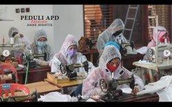 Desainer Kondang Asal Semarang Anne Avantie Produksi APD untuk Tangani Virus Corona, Gratis!