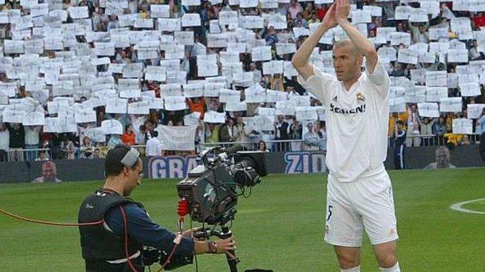Sejarah Hari Ini, Maestro Sepak Bola, Zinedine Zidane Pensiun Sebagai Pemain Bola di Real Madrid