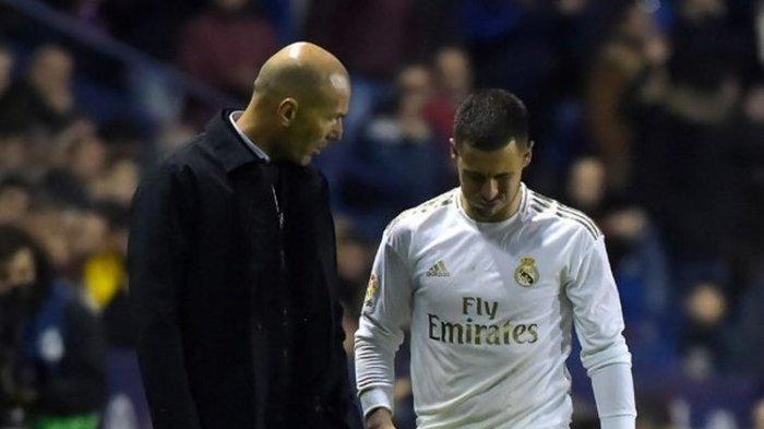 Eden Hazard Justru Bersedih Saat Real Madrid Juarai Liga Spanyol