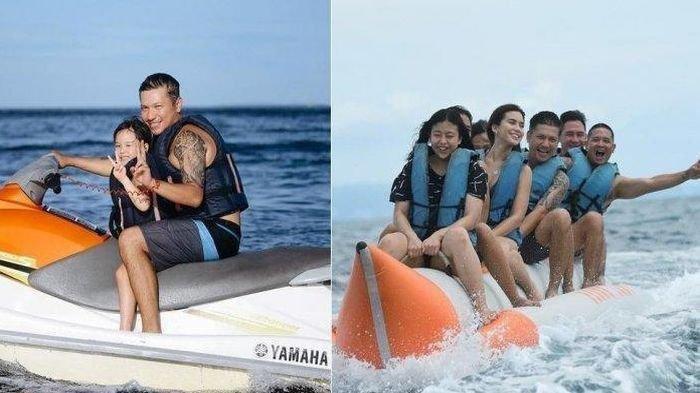 Potret Kemesraan Gading Marten dan Karen Nijsen, Bawa Gempi Liburan di Bali, Calon Kuat Istri Baru?