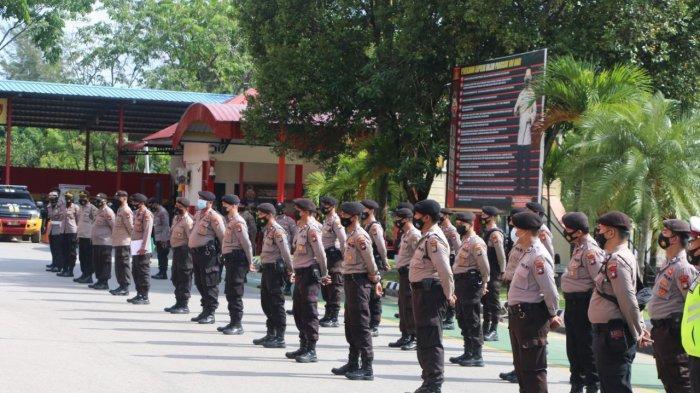 Vaksinasi Buruh hingga Serahkan Petisi, Polisi Jaga Ketat Rangkaian Peringatan May Day di Batam