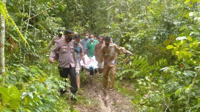 Penemuan Mayat di Lingga, Rudi Tewas di Tengah Hutan, Ada Lubang di Dada Diduga Benda Ini