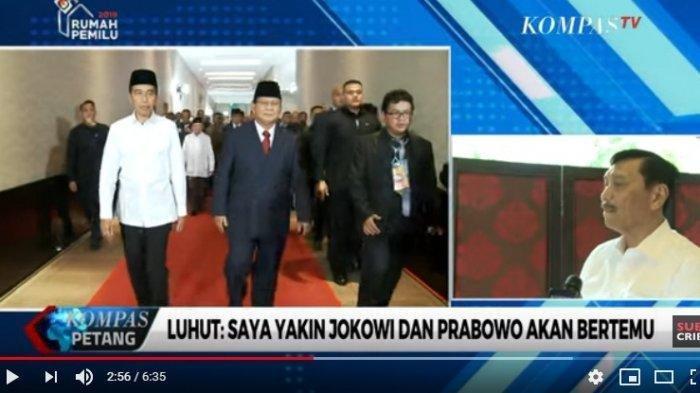 Prabowo Berjalan Pincang, Luhut Beri Saran Berobat ke Dokter Terbaik Dunia di Korsel atau Jerman