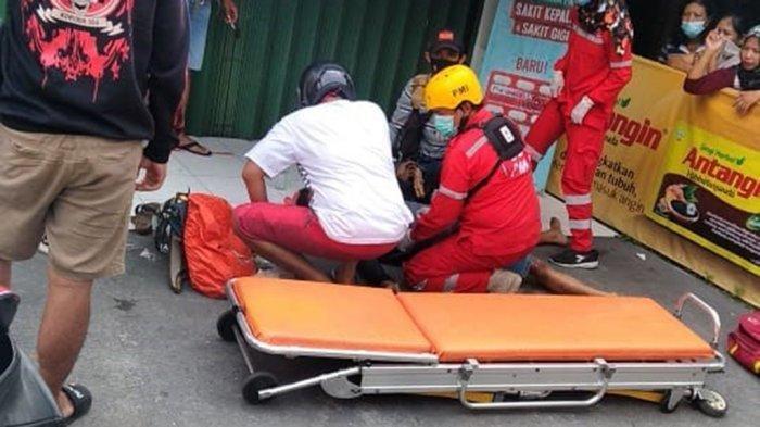 Kecelakaan Maut Hari Ini, Pengendara RX King Oleng lalu Terjatuh