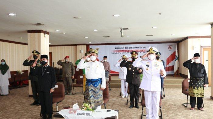 Gubernur Kepri Ikut Upacara Hari Lahir Pancasila Via Virtual, Ini Arahan Jokowi