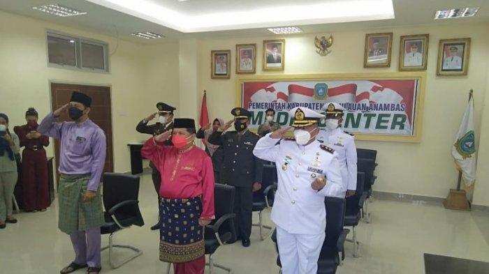 Wakil Bupati Anambas Hadiri Upacara Peringatan Hari Lahir Pancasila secara Virtual