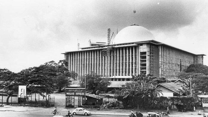 Kisah Dibalik Pembangunan Masjid Istiqlal Jakarta, Perjuangan Bung Karno hingga Sarat Makna Bangunan