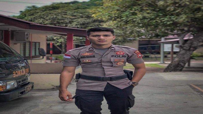Bripda Josua Sibarani, personel Polri yang bertugas di Polsek Kecamatan Siantan, Anambas