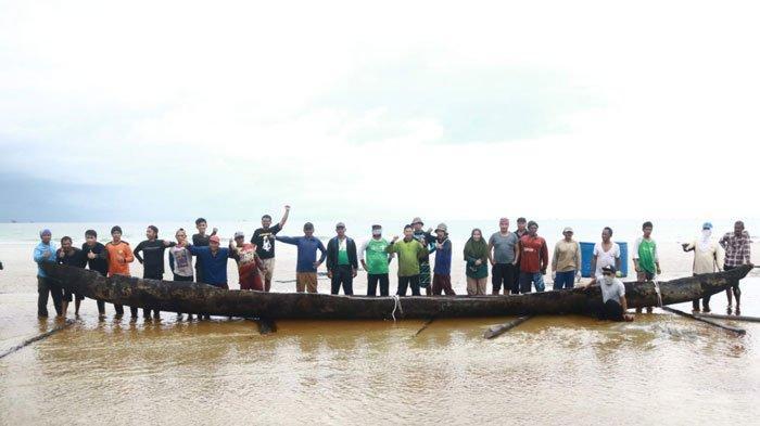 Perahu Diduga Cagar Budaya Ditemukan di Lingga, Arkeolog Sumatera Utara Lakukan Penelitian