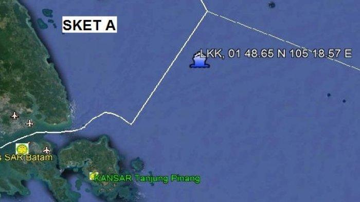 Selama 13 jam Hanyut di Laut Dekat Anambas, Tiga Nelayan Tanjungpinang ini Diselamatkan Kapal Tanker