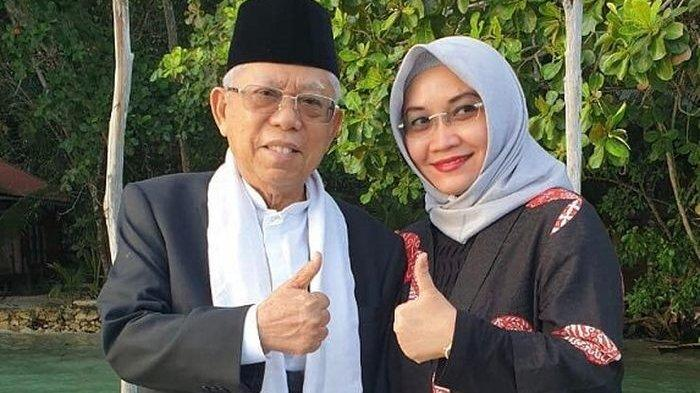 SOSOK Wury Estu Handayani, Istri Kedua Wakil Presiden Maruf Amin Yang Beda Usia 31 Tahun