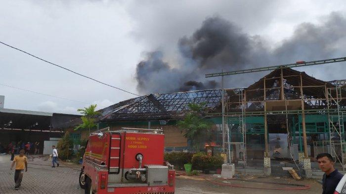 Bakal Berganti Menjadi Kafe, Percikan Api Diduga Jadi Sebab Restoran di Batam Centre Terbakar