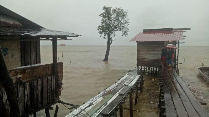 Warga Batu Merah Korban Bencana Butuh Bantuan Bahan Bangunan, Pembangunan Tanggul Jadi Sorotan