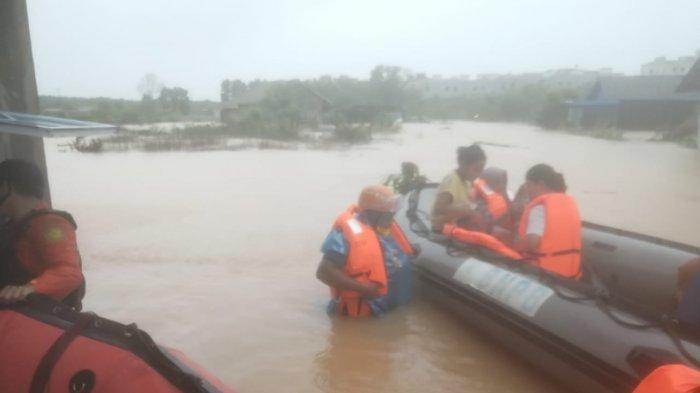 Basarnas Tanjungpinang mengevakuasi 155 warga Tanjungpinang termasuk bayi