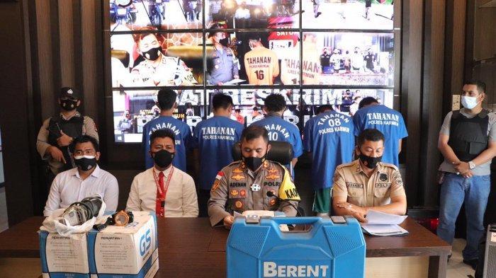 Komplotan Pencuri di Karimun Ditangkap Polisi, Pelaku Utama Beraksi Lebih dari Sekali
