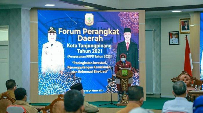 Wali Kota Tanjungpinang Minta Program Berdampak Langsung ke Warga Jadi Prioritas OPD