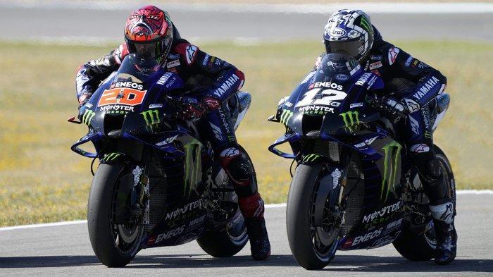 MotoGP Spanyol Live Trans7 19.00 WIB, Doa Buruk Vinales pada Quartararo; Semoga 2 Ducati Ganggu Dia