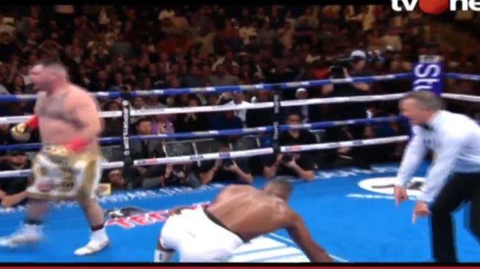 Andy Ruiz Junior, Petinju Meksiko Pertama Sabet 4 Gelar Juara Tinju Dunia, Pukul KO Anthony Joshua