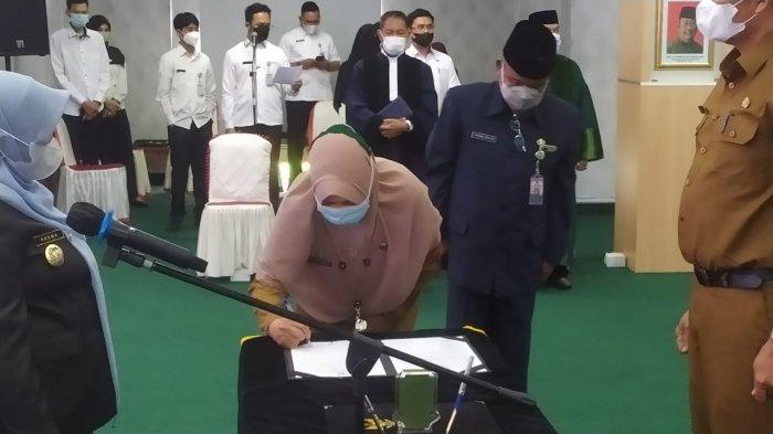 Daftar 24 Pejabat Pemko Tanjungpinang yang Dilantik Wali Kota Rahma, Rabu 2 Juni 2021