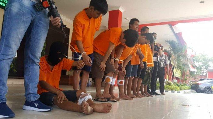 Kasus Jambret  di Batam, Polisi Tangkap dan Tembak 3 Pelaku, Sudah 17 Kali Beraksi di Kota Batam