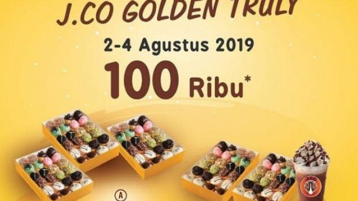 Promo Spesial Pay Day Donat JCO Hanya 3 Hari, Mulai 2 - 4 Agustus 2019