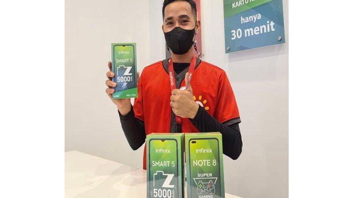 HARGA Handphone Infinix Serba Rp 1 Jutaan di Erafone, Bisa Dicicil Tanpa Bunga