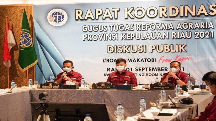 Masyarakat Pesisir Jadi Isu Utama di Rakor GTRA Terintegrasi Kepri, Ini Kata Gubernur