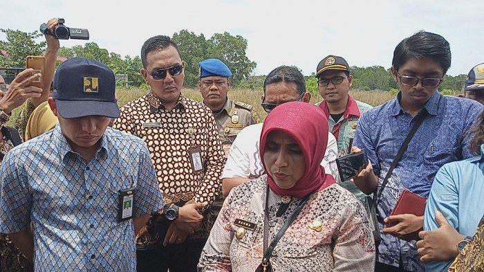 BREAKINGNEWS - Wakil Walikota Tanjungpinang Tinjau Lahan Pasar Induk