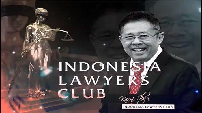 Topik ILC TV One Edisi Selasa 1 Desember 2020, Bahas Lobster dan KPK, Rocky Gerung Hadir?
