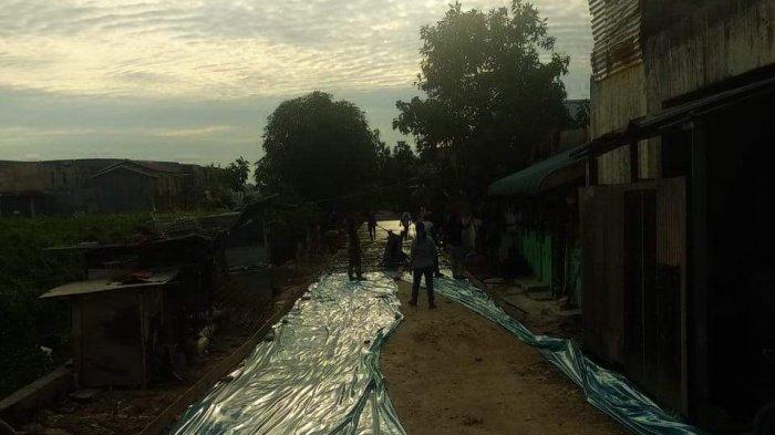 Ramai Dibicarakan, Lurah Sei Pelunggut Batam segera Tinjau Proyek Semenisasi di Sagulung