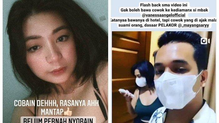 Mayang Sary Janjian Mesra di Kamar dengan Suami Vanessa Angel: Cobain Deh Rasanya Mantap, Enak Tau!
